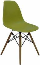 Design Eetkamerstoel Groen - Lime Groen