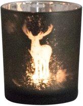 Waxinelichthouder Hert (7,3 x 8 cm)