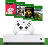 Xbox One S console 1TB All-Digital + FIFA 20 + Fortnite + Sea of Thieves + Minecraft