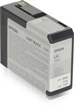 Epson T5807 - Inktcartridge / Licht Zwart