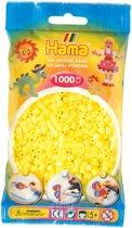 Hama Strijkkralen Pastel Geel - 1000 Stuks
