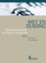 Omslag van 'Larcier Duiding - Wet & Duiding Fiscale procedure en fiscaal strafrecht'