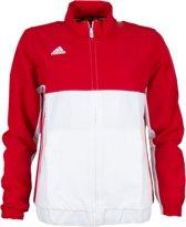 adidas Sportjas - Maat XS  - Vrouwen - rood/wit