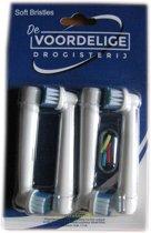 Opzettandenborstels - opzetborstels passend op Oral B - SB-17A - 4 stuks