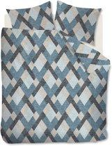 Beddinghouse Montero - Dekbedovertrek - Tweepersoons - 200x200/220 cm - Blue