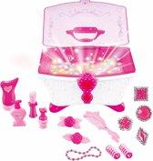 Sieradendoos met juwelen voor meisjes