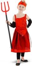 Dracula jurk in maat 6-8