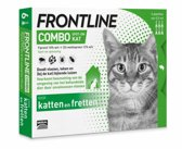 Frontline Combo Anti Vlooienmiddel en Tekenmiddel - Kat - 6 Pipetten