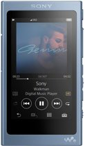Sony NW-A45 - Walkman - Hi-Res Audio MP3-speler - 16GB - Blauw
