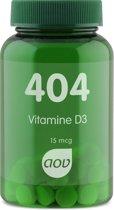 Aov Vitamine D3 - 60 tabetten - Voedingssupplement