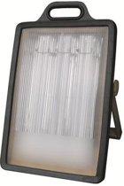 Relight Bouwlamp – 3x24w PL Spaarlampen – Met 2 Stopcontacten - RE813697