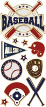 Paper House Stickers Baseball