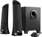 Hercules 2.1 Slim - 2.1 Speakerset - 30 Watt- Zwart