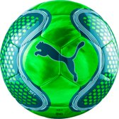PUMA FUTURE Net ball Voetbal Unisex - Green Gecko/White/Deep Lagoon