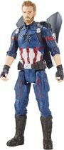 Marvel Avengers: Infinity War Titan Hero Power FX Captain America – 29.8 cm – Actiefiguur