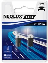 Neolux Autolamp T10 Smd Led 12 Volt 0,5 Watt Wit 2 Stuks