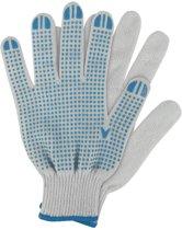 Talen Tools Werkhandschoenen katoen blauw maat M