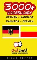 3000+ German - Kannada Kannada - German Vocabulary