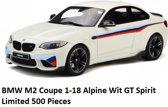 BMW M2 Coupe 1-18 Alpine Wit GT Spirit Limited 500 Pieces