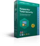 Kaspersky Total Security 2018 - 3 Apparaten - Nederlands / Frans - Windows / Mac / Android