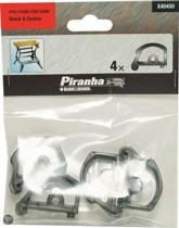 Piranha 4 voetklemmen voor workmate X40450