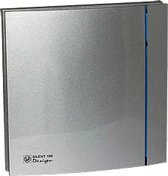 Soler & Palau Silent badkamerventilator - Design - 100cz - zilver