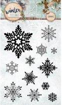 Winter Feelings - Transparante Stempel - A6 - 10,5 x 15cm