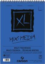 Aquarelblok - Canson XL Mix Media A3 300grams - 30vel spiraal