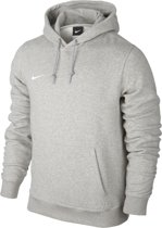Mikina Nike Team Club GREY HEATHER/GREY HEATHER/WH