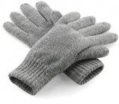 Classic thinsulate handschoenen grijs S/M