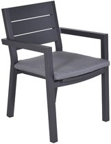 Garden Impressions - Cube dining fauteuil - carbon black