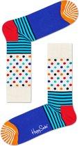 Happy Socks Sokken Stripes & Dots Socks Blauw Maat:41-46