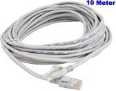 Netwerkkabel 10 meter / LAN Kabel / ISDN DSL STP UTP Kabel / CAT5E RJ45 / Internet Kabel