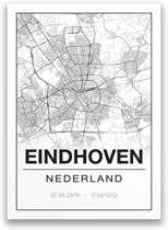 Poster/plattegrond EINDHOVEN - A4