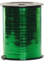 Metallic groen cadeau lint 250 meter