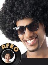 12 stuks: Pruik Afro - zwart