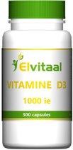 Elvitaal Vitamine D3 1000 IE 300 capsules