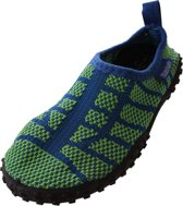 Playshoes waterschoentjes knitted blauw groen