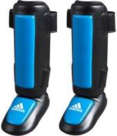 adidas Pro Style Scheenbeschermers Zwart/Blauw XXL