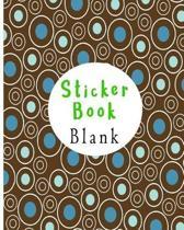 Sticker Book Blank