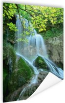Krushuna waterval Oost-Europa Poster 80x120 cm - Foto print op Poster (wanddecoratie)