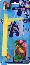 Tender Toys Waterballonpomp Met 50 Ballonnen 30 Cm Geel/blauw
