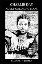 Charlie Day Adult Coloring Book