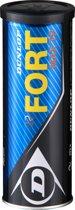 Dunlop FORT MAX TP KNLTB 3TIN - GEEL - Tennisballen Unisex - 601198