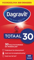 Dagravit Totaal 30 - 500 Dragees - Multivitaminen