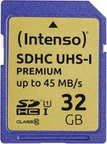 Intenso flashgeheugens 32GB SDHC