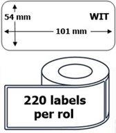 100x Dymo 99014 compatible 220 labels