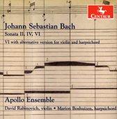 J.S. Bach: Sonatas For Violin & Harpsichord