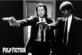Poster Pulp Fiction guns 61 x 91,5 cm - filmposter