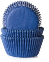 Cupcake vormpjes jeans blue 50 st.